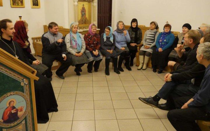 Проведен курс лекций по истории Православной Церкви для глухих и слабослышащих