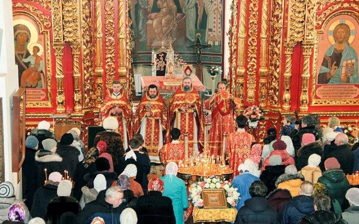 Престольный праздник в храме святых Новомучеников и Исповедников Российских
