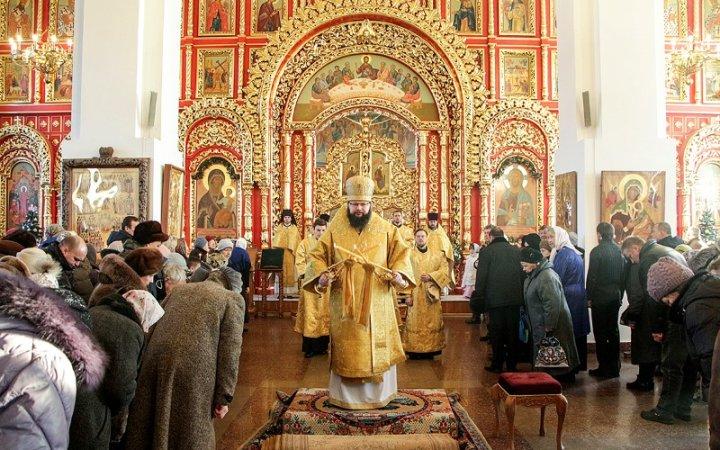 Архипастырь совершил праздничное богослужение в храме Новомучеников Церкви Русской