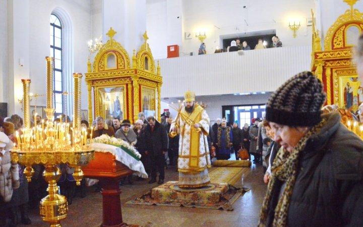 Митрополит Исидор совершил Божественную литургию в храме Святых Новомучеников