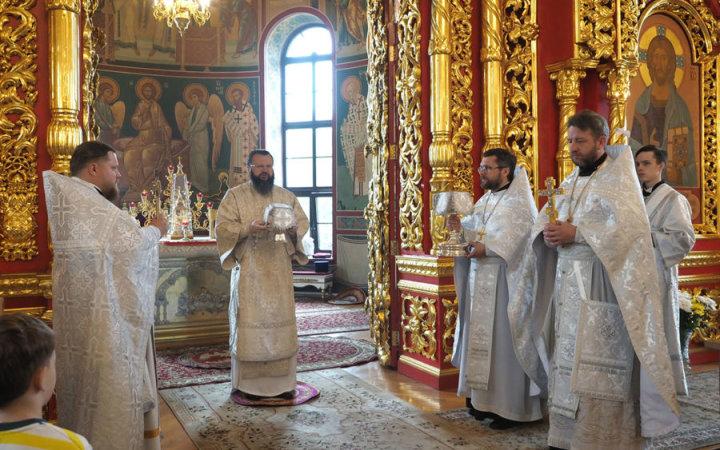 Божественная литургия в день памяти Святителя Луки (Войно-Ясенецкого)