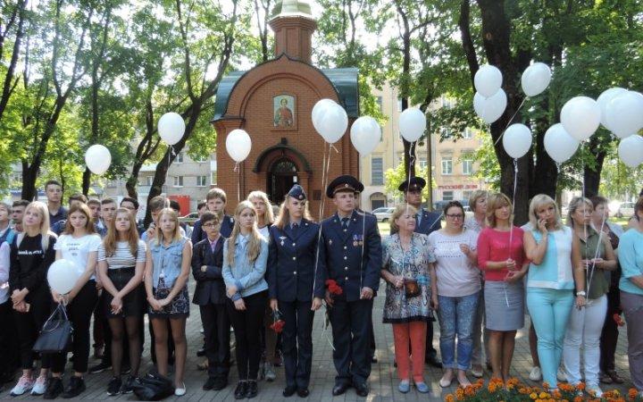 Акция ко Дню солидарности в борьбе с терроризмом прошла в Смоленске