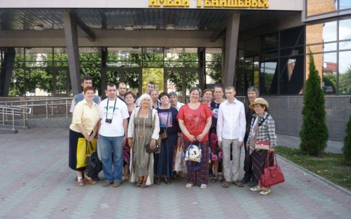 Посещение выставки воскресной школой