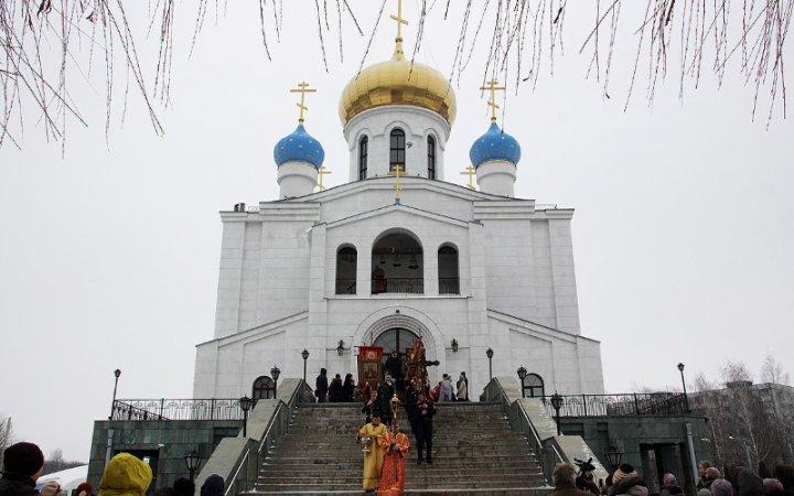 Престольный праздник в храме Новомучеников и исповедников Церкви Русской