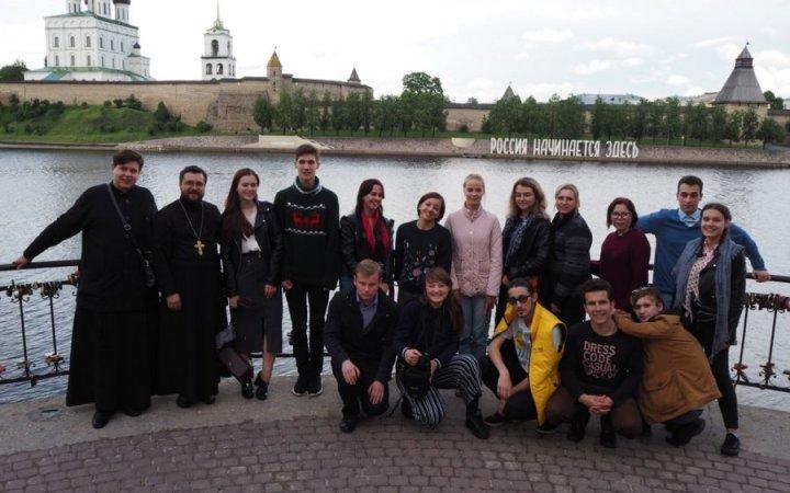 Команда проекта «Жемчужное ожерелье Святой Руси» посетила Псков