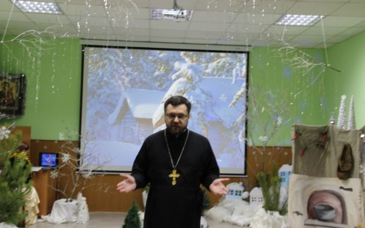 Рождество в воскресной школе храма  Св. Новомучеников