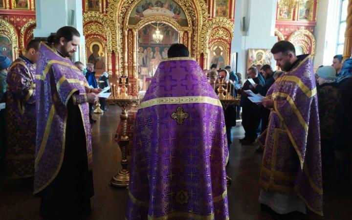 Родительская суббота 3-й седмицы Великого поста в храме Святых Новомучеников Российских