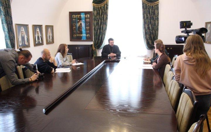 В Епархиальном управлении прошла пресс-конференция по Одигитриевским торжествам
