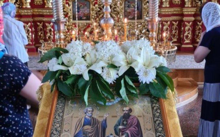 Поздравляем с Днем славных и всехвальных первоверховных апостолов Петра и Павла!