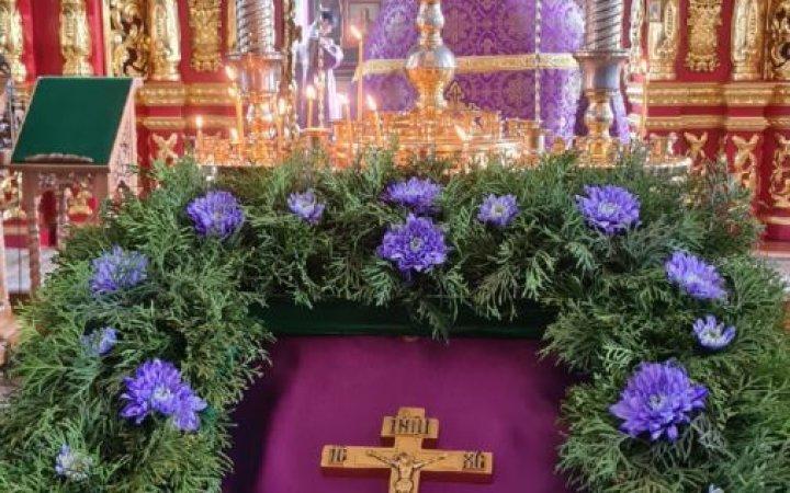 Неделя 3-я Великого поста, Крестопоклонная. Проповедь протоиерея Валерия Рябоконь после поздней Божественной литургии.
