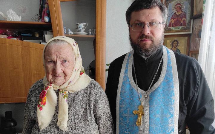 Отошла ко Господу старейшая прихожанка храма Святых Новомучеников и Исповедников Церкви Русской раба Божия Анна