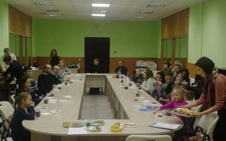 Празднование масленицы в киноклубе «Orthodox»