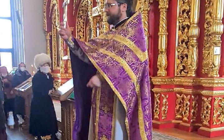 Проповедь настоятеля храма протоиерея Валерия Рябоконь в неделю Торжества Православия