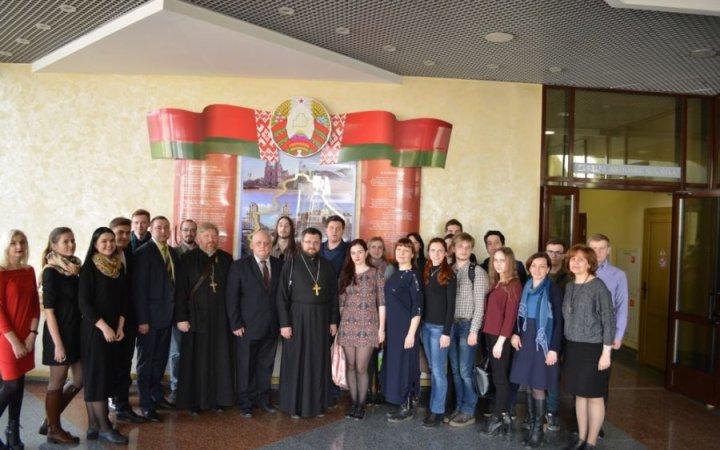 Смоленские студенты рассказали о проекте «Жемчужное ожерелье Святой Руси» в  Витебском медицинском университете
