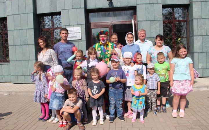 Молебен на начало учебного года в храме Святых Новомучеников и Исповедников Российских