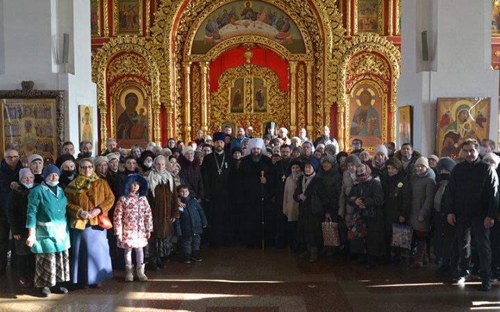 Богослужение в День Престольного торжества в храме Новомучеников и Исповедников Церкви Русской